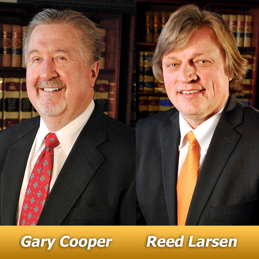 Gary Cooper Reed Larsen Idaho Litigation Attorneys